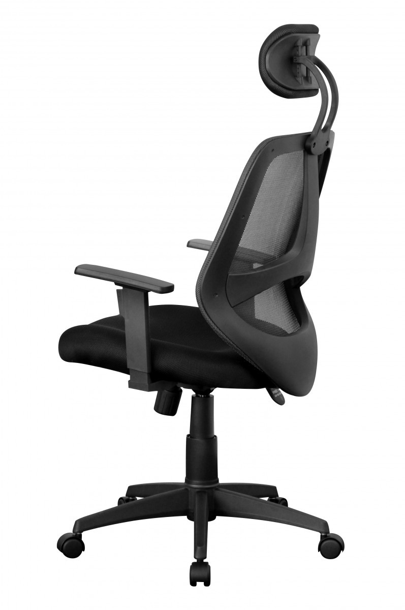 xxl chefsessel stoff netz schwarz drehstuhl b rostuhl schreibtischstuhl neu ebay. Black Bedroom Furniture Sets. Home Design Ideas