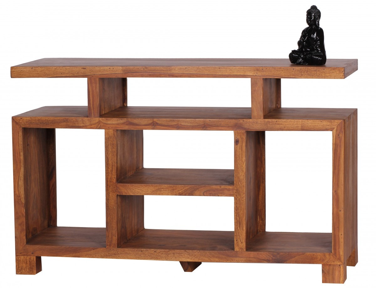 elegantes sideboard tv schrank massiv holz 120 x 40cm massivholz anrichte neu ebay. Black Bedroom Furniture Sets. Home Design Ideas