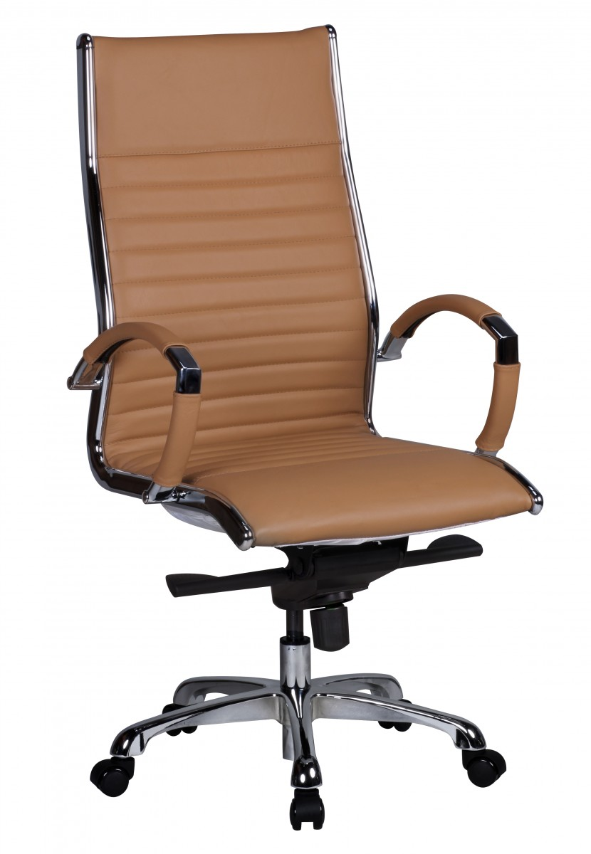 amstyle executive office chair salzburg 1 caramel leather. Black Bedroom Furniture Sets. Home Design Ideas