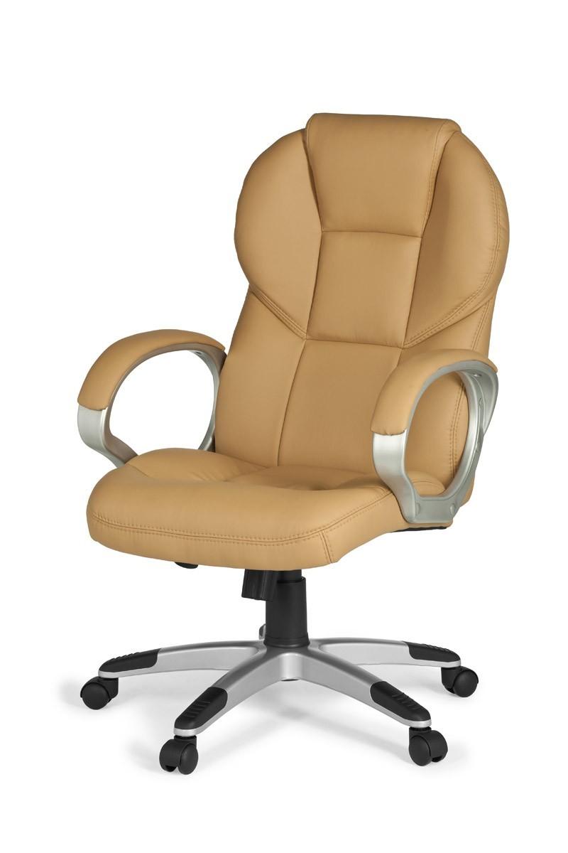 xxl chefsessel leder optik caramel b rostuhl drehstuhl. Black Bedroom Furniture Sets. Home Design Ideas