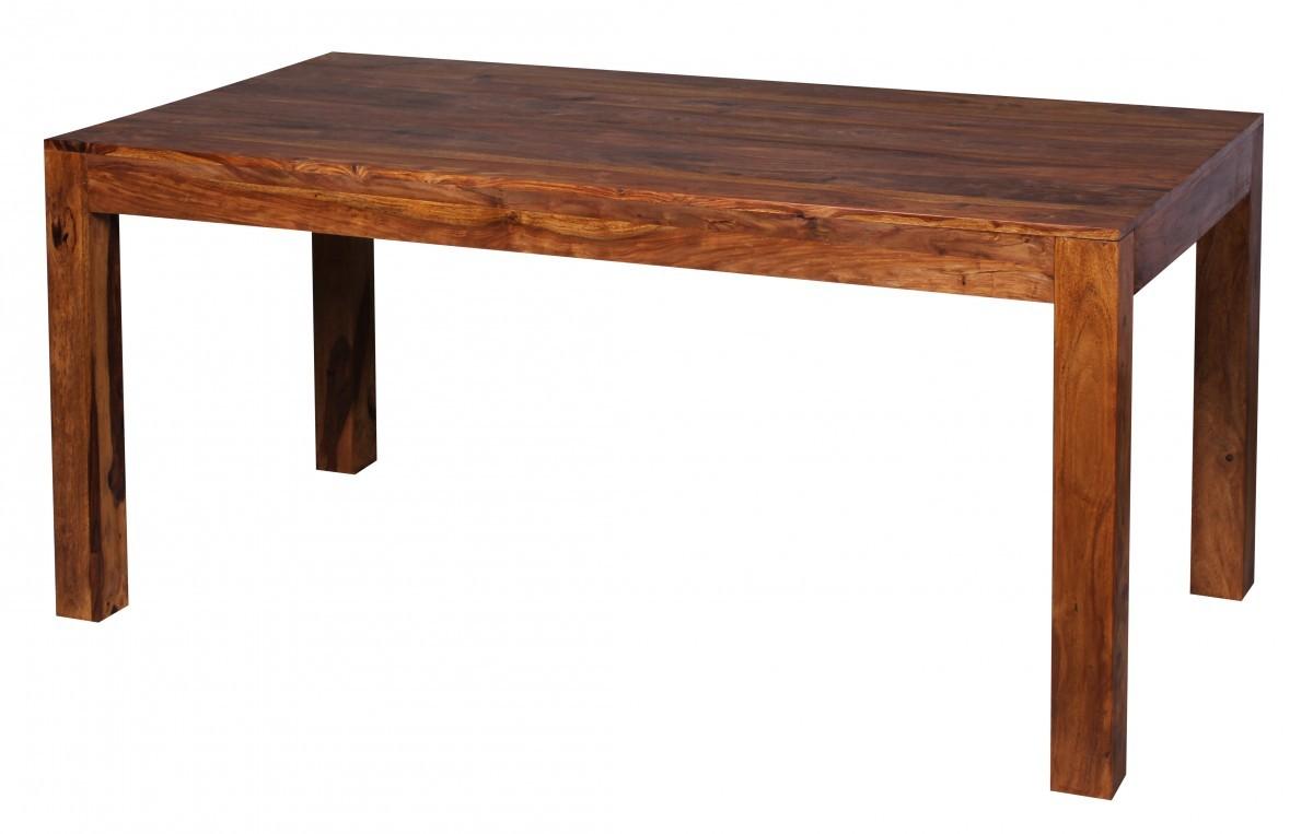 finebuy esstisch massivholz sheesham 160 cm esszimmer. Black Bedroom Furniture Sets. Home Design Ideas