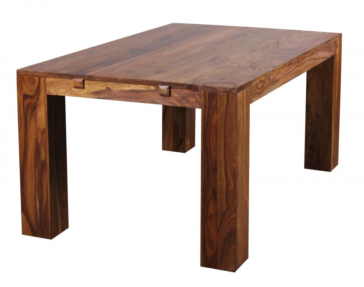 Design holztisch ausziehbar neuesten for Holztisch ausziehbar