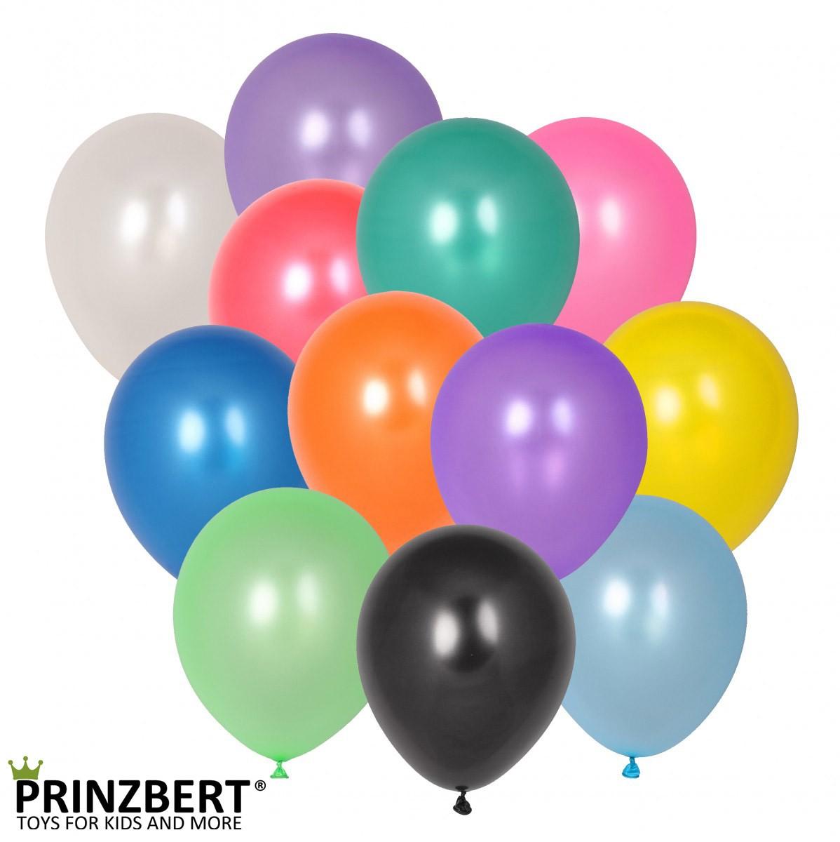 100 luftballons hell gr n partyballons 30 5 cm ballons metallic farbe luftballon f r deko. Black Bedroom Furniture Sets. Home Design Ideas