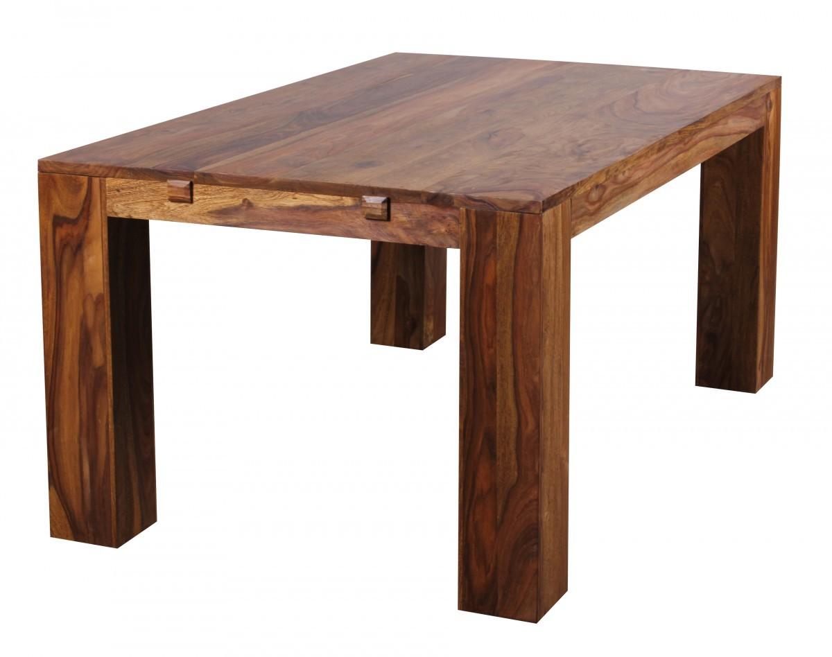 Esstisch Sheesham Holz ~ FineBuy Esstisch Massivholz Sheesham 160240cm ausziehbar EsszimmerTisch Hol